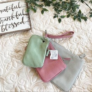 NWT Free People Wristlet Set